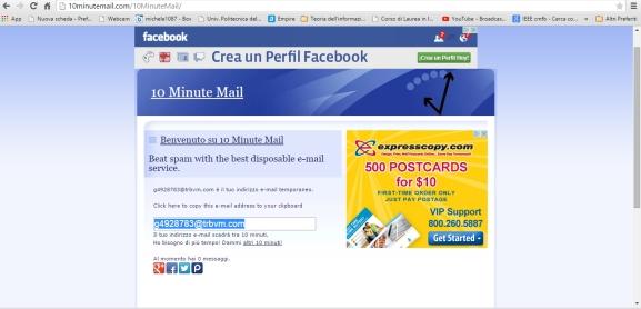 temporany email