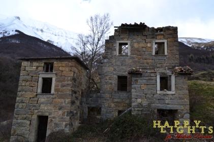 I ruderi della valanga di Casale Vecchio