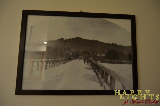 Foto del vecchio ponte sul fiume Tenna
