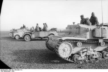 Nordafrika, italienische Panzer