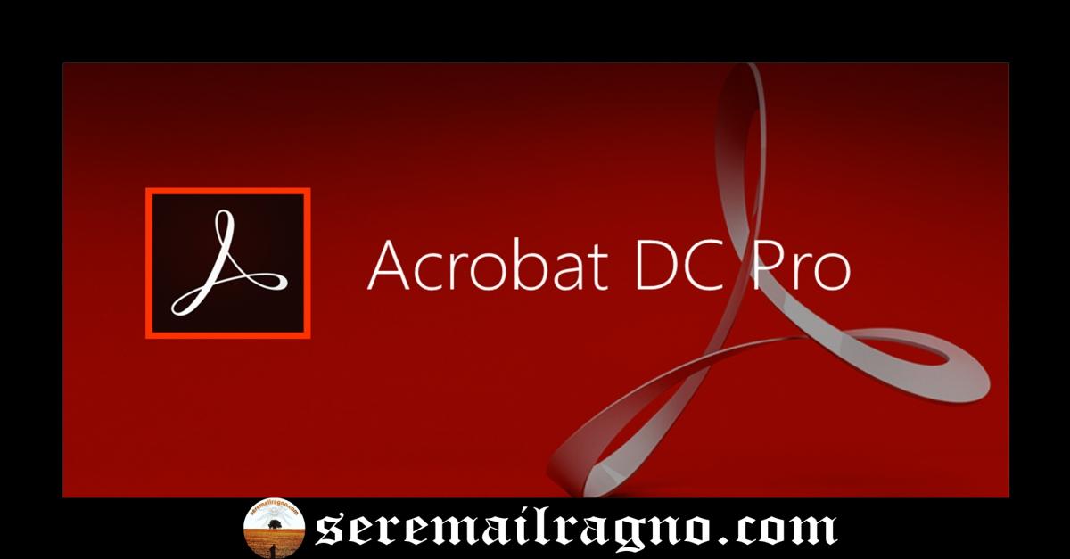 Attivazione di Adobe Acrobat Pro DC