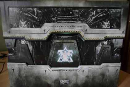 Starcraft 2 Wings of liberty collector's edition-1