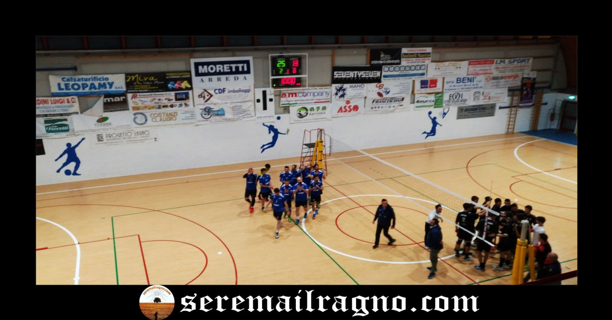 E.M. Company Volley batte Cucine Lube Civitanova 3-0