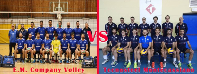 E.M. Company Volley vs Tecnosteel Montecassiano