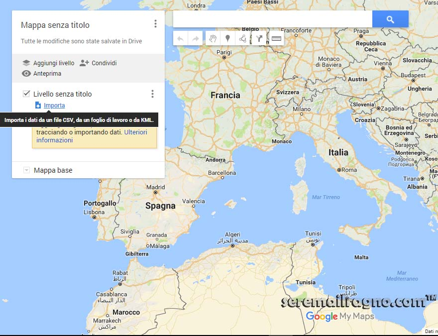 how to create a gpx file in google maps