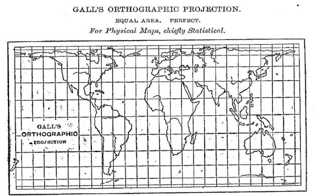Gall's orthographic projection