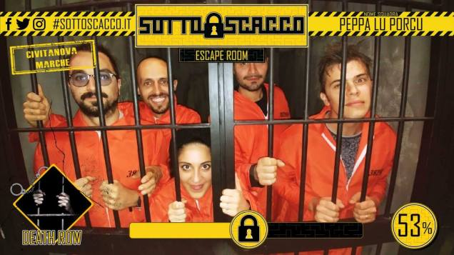 Sotto Scacco Escape Room - Death Row