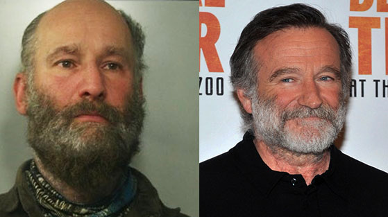 Sosia di Robin Williams