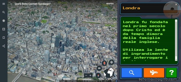 Google Earth gioco